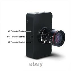 12MP HDMI Camera HD1080P USB Streaming Webcam Recording 4K@30FPS 6-12mm Lens