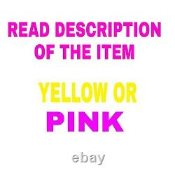 12/2 WithGROUND ROMEX INDOOR ELECTRICAL WIRE 100' FEET YELLOW PINK READ DESCRIPT
