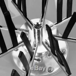 16 Hydroponics Twisted Trimmer Bowl Leaf Plant Bud Spin Stainless withWire blades