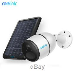 4G LTE Network Mobile Security Camera Battery Powered Reolink GO & Solar Panel