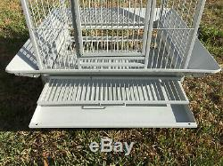 78 Large Bird Parrot Open PlayTop Cage Cockatiel Macaw Conure Aviary Finch 260