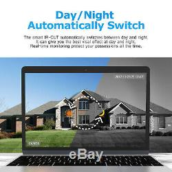 Anran 8CH AHD 1080P CCTV Camera Security System 1080N Outdoor Night Vision DVR