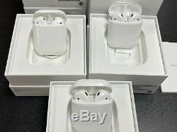 Apple AirPods 2nd Generation Wireless Earbuds With Wired Charging Case MV7N2AM/A