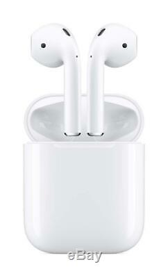 Apple Airpods 2 (2019) Wireless Ear Headset with Wired Charging Case 2nd Gen