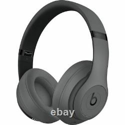 Authentic Apple Beats by Dr Dre Studio3 Wireless Over-Ear Headphones Gray