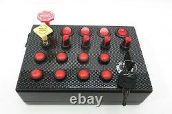 BBJ SimRacing PC USB 27+2 Function Truck Simulator Button Box for ETS2 ATS Red