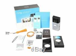 BRAND NEW! Ring Video Doorbell 2 Wire-Free Video Doorbell + Ring Chime Bundle