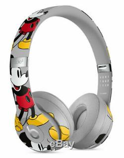 Beats by Dr Dre Solo3 Wireless 90th Anniversary Mickey Mouse Edition Limited NEW