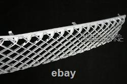 Chevy Tahoe Suburban Avalanche CHROME Snap On Grille Overlay Grill Covers Insert