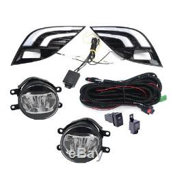 For Toyota Camry SE XSE 18-20 LED DRL Turn Signal Lamp Fog Light Wiring Refit US