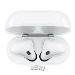 Genuine Apple Airpods White 2nd Generation MV7N2AM/A with Wired Charging Case
