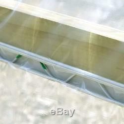 Greenhouse Wire Kit 1 x 6.5' Aluminum Channel and 6.5' Steel Wire (20 Pack)