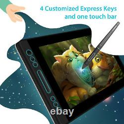 HUION KAMVAS PRO 13 Battery-free Pen 13.3'' Graphics Drawing Tablet Screen+Stand