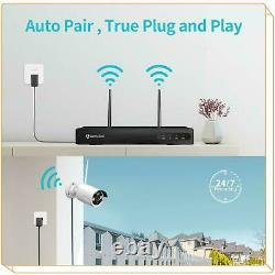 Heimvision HD 1080P CCTV IP Camera Wireless Wifi 8CH NVR Home Security System US