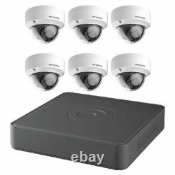 Hikvision 8CH 2MP 1080p 2TB Outdoor Surveillance Security DVR Dome Camera System