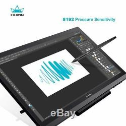 Huion GT-191 19.5 Inch IPS HD Drawing Monitor Graphic Tablet Pen Display 8192 US