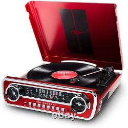 Ion Audio Mustang LP 4-in-1 Classic Car-Styles Music Center (MUSTANGLPRED)