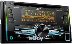JVC Double Din Bluetooth USB CD Player Car Radio Install Mount Kit Wire Harness