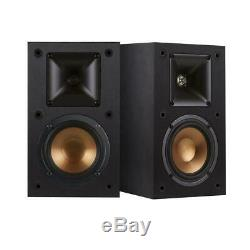 Klipsch R-14M 4 Reference Bookshelf Speaker, 200W Peak Power, Pair #1061247
