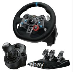 Logitech Driving Force G29 Racing Wheel WithPedals and Shifter