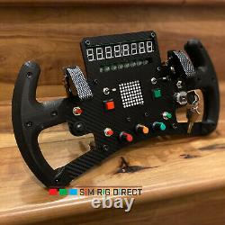 Logitech G25 G27 G29 G920 F1 Racing Wheel with Quick Release Adapter With Display