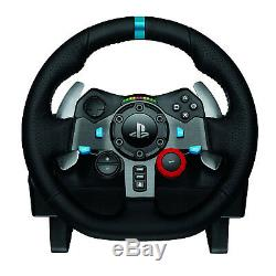 Logitech G29 Driving Force Racing Wheel Dual Motor Force Feedback for PS3 & PS4