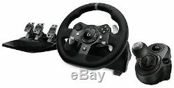 Logitech G920 Driving Force Racing Wheel for Xbox one, PC + Driving Force Shifter