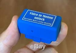 MERCEDES Video in Motion TV Free S C GLC Viano W205, W222, C217, V447, X253 No Wires