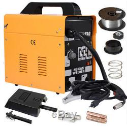 MIG-130 Welder Flux Core Wire Automatic Feed Welding Machine withFree Mask +2 Tips