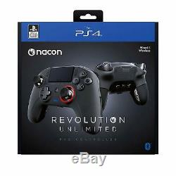 NEW NACON Revolution Unlimited Pro Controller (Esports) PS4/PC (Wireless+Wired)