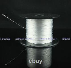 New 25meters 30AWG 5N Pure Silver Litz turntable tonearm wire by FedEx worldwide