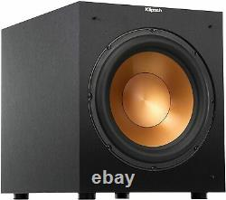 New Open Box Klipsch Reference R-12SW 400W Front-Firing Subwoofer Black