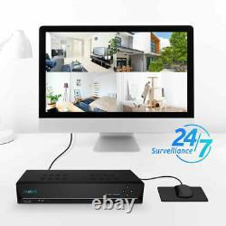 PoE NVR 16CH IP Home Security Camera System Video 5MP 4MP HD Recording Reolink