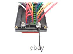 Pre-Wired Bussmann RTMR 15303-2 Waterproof Fuse Relay Panel 10' Leads 12V