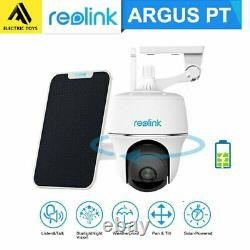 Reolink Argus PT 1080P Rechargeable Battery Powered Wireless Outdoor WiFi Camera
