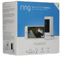 Ring Stick Up Cam Battery Indoor/Outdoor Security Camera Two-Way Talk & Siren