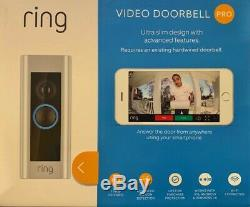 Ring Video Doorbell Pro, HD 1080 Video, WiFi, Brand New Factory Sealed