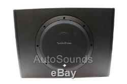 Rockford Fosgate P300-10 300 Watts 10 Powered Amplified Subwoofer Enclosure Box