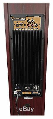 Rockville TM150C Bluetooth Home Theater Tower Speaker System (2) 10 Subwoofers