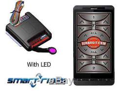 Smart I-Phone Air Suspension Controller works any Air Suspension, wire to valves