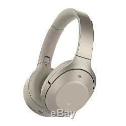 Sony WH-1000XM2 WH1000XM2 Wireless Bluetooth Noise-Canceling Headphones Gold