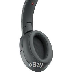 Sony WH-H900N h. Ear on 2 Bluetooth Wireless Noise Canceling Stereo Grayish