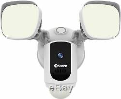 Swann 1080p Outdoor Wi-Fi Floodlight Security Camera with Night Vision