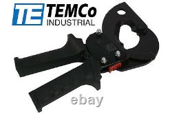 TEMCo HD Ratchet 1000 mcm WIRE & CABLE CUTTER Electrical Tool 500mm2 Ratcheting
