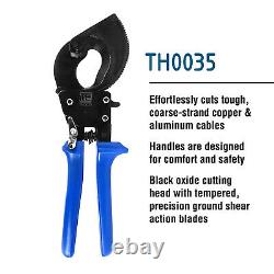 TEMCo HD Ratchet 500 mcm WIRE & CABLE CUTTER Electrical Tool 240mm2