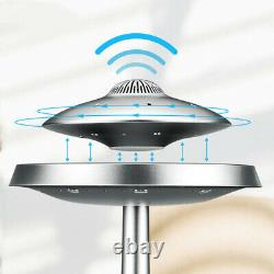 UFO Magnetic Levitation Floating wired LED Table Lamp Bluetooth Speaker 3D