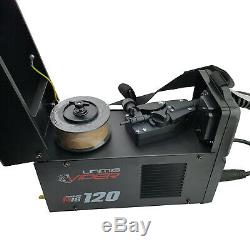 UNIMIG VIPER 120 SYNERGIC MIG Welder + Free 10 Contact Tips & 1kg Gasless Wire