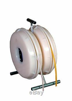 Wire Wheel electrical wire dispenser romex spinner wire caddy- stud reeler