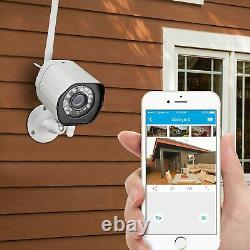 Zmodo WiFi HD 720p Surveillance IP Camera 4 Pack Home and Business Security